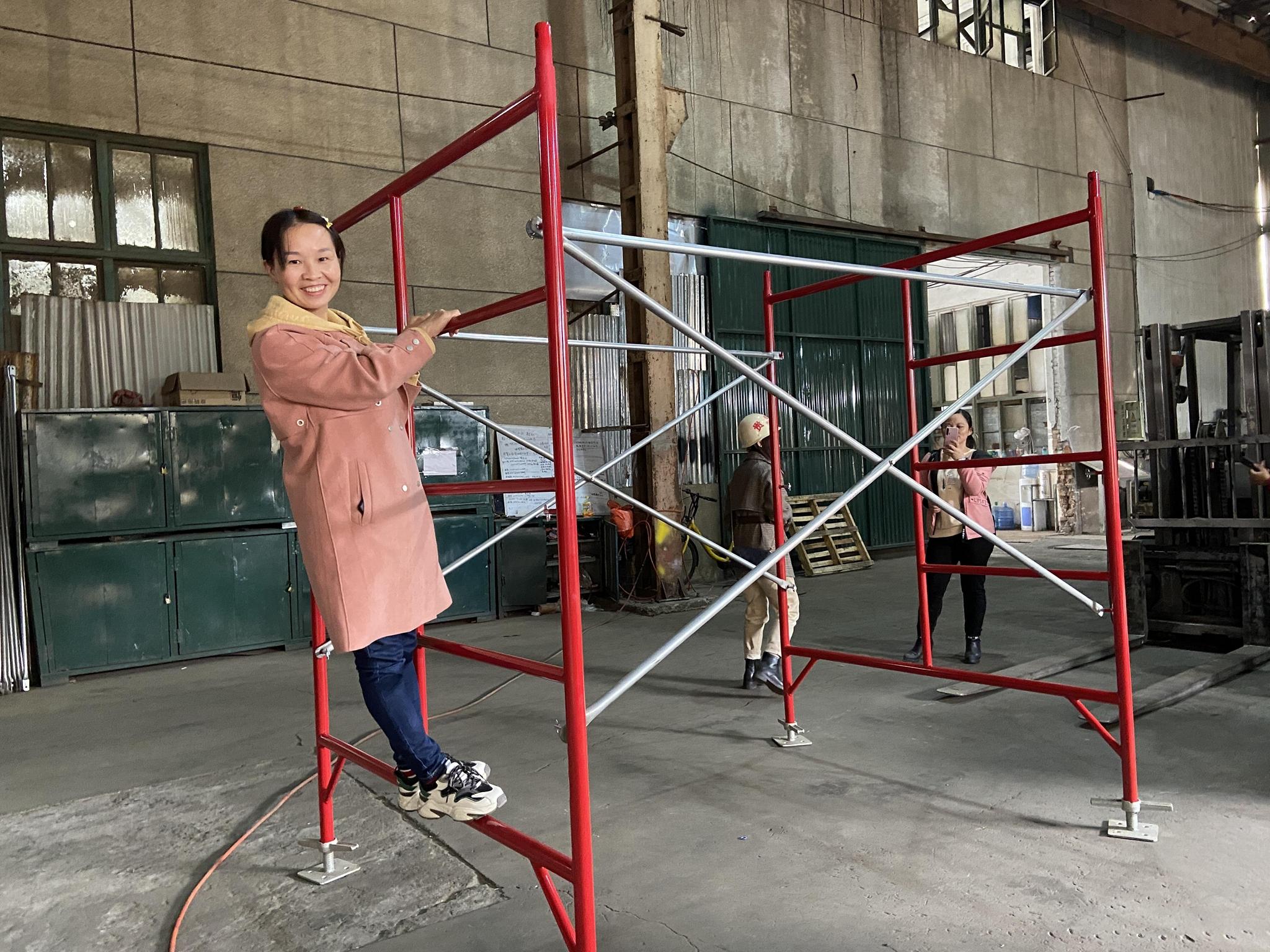 "5'x6'7""  Mason Frame 5'x5'1""mason frame ladder frame frame scaffold 2"