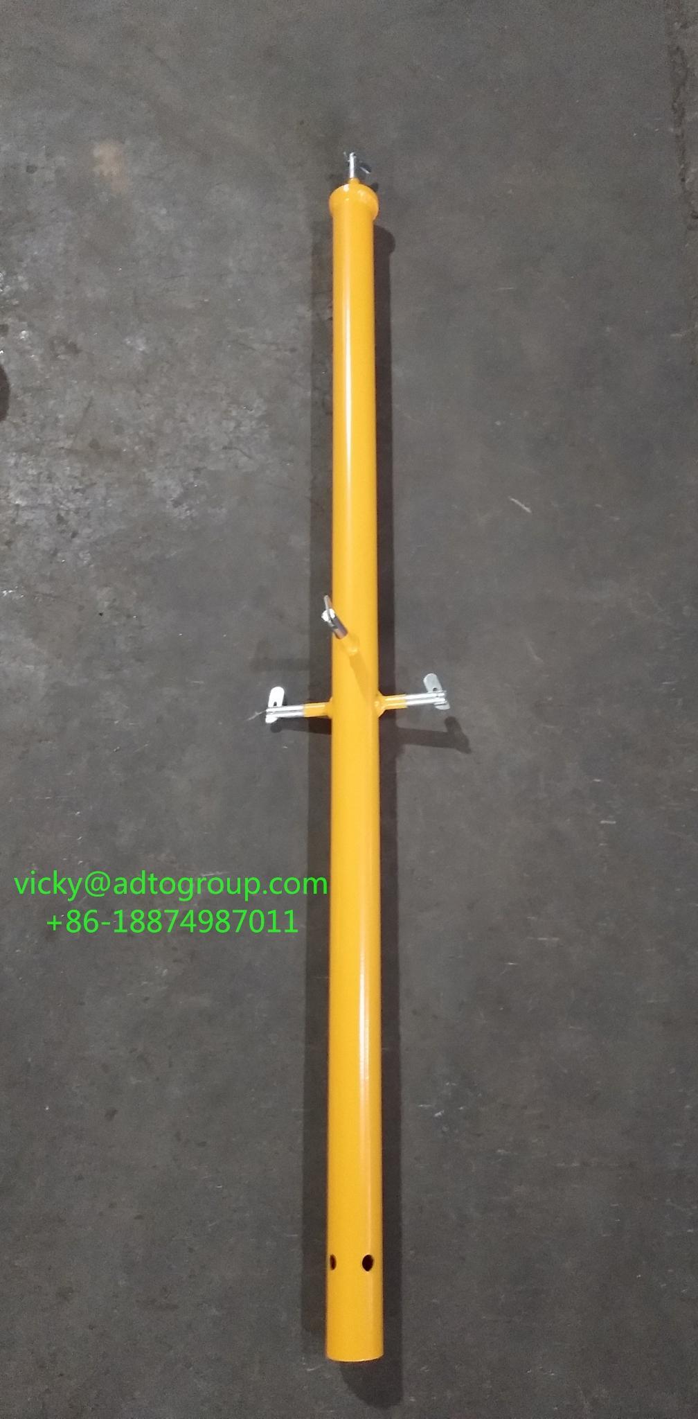 "42"" guardrail post guardrail post with kicker guardrail frame scaffold frame sca 2"