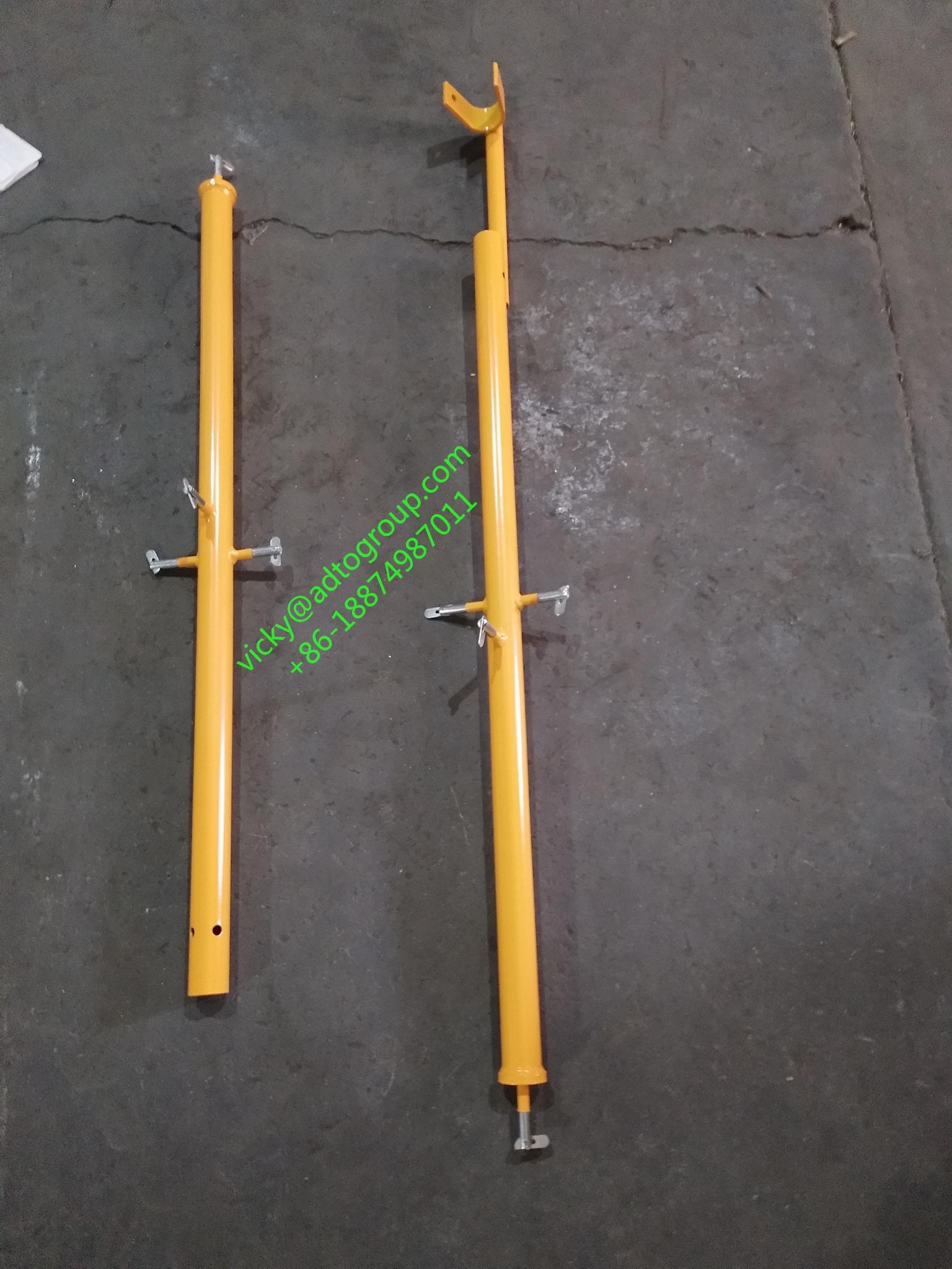 "42"" guardrail post guardrail post with kicker guardrail frame scaffold frame sca 3"