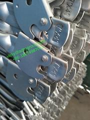 """7'x4' 7' x 27-3/4"""" 10'x4'x3' Cross Brace Frame Scaffold guardrail Accessories"""