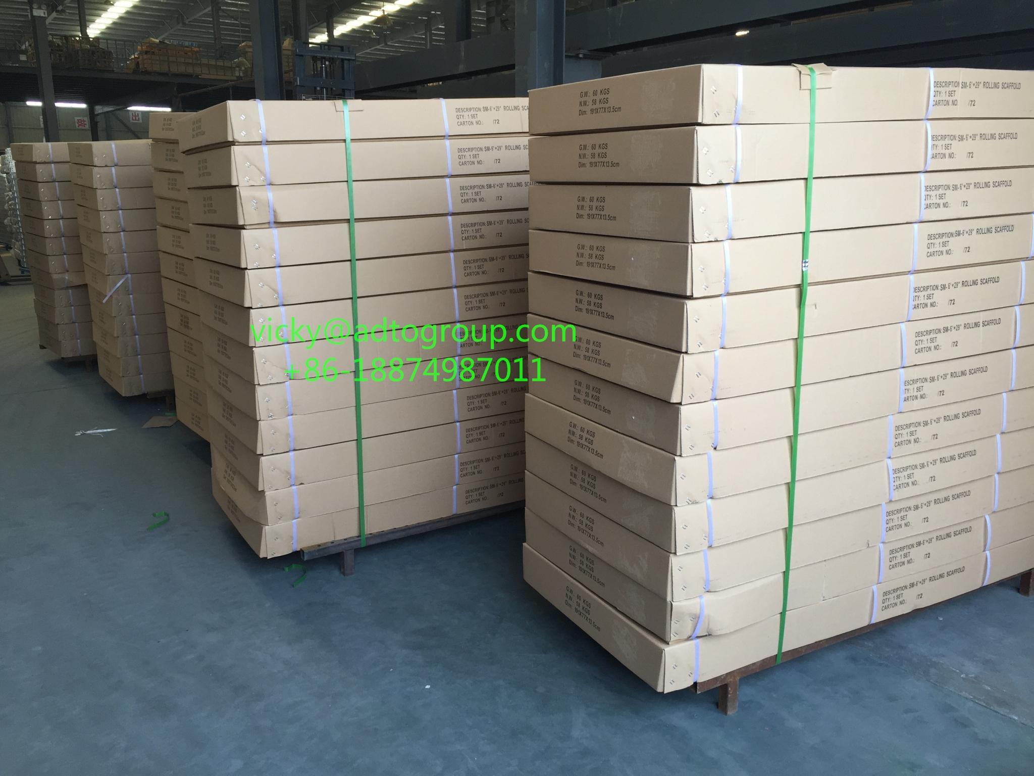 6'Multi-function Scaffold 6' Mobile Scaffold rolling scaffold baker scaffold 3
