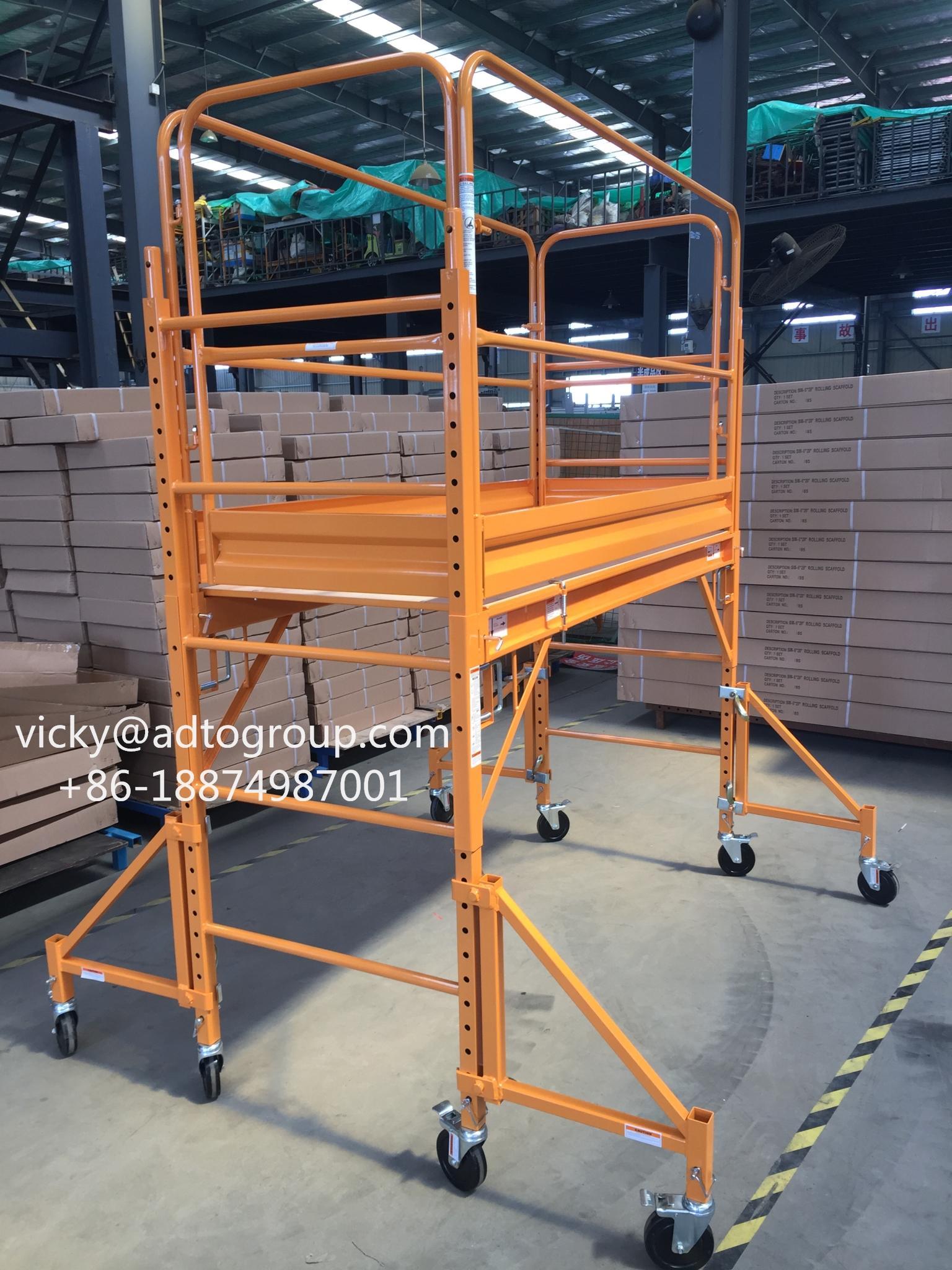 6'Multi-function Scaffold 6' Mobile Scaffold rolling scaffold baker scaffold 4