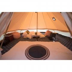 5m Canvas Bell Tent   Custom canvas bell tent   large camping tents 3