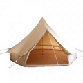 4m Canvas Bell Tent   canvas bell tent