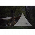 3m Canvas Teepee Tent    Canvas Bell