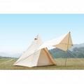 Double Door Indian Tent  canvas camping