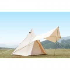 Double Door Indian Tent  canvas camping tents   luxury safari tents supplier