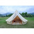 5m Canvas Bell Tent With Pvc Roof