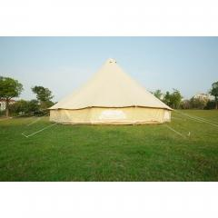 6m Canvas Bell Tent   Custom canvas bell tent   camping teepees manufacturer
