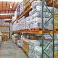Warehouse storage pallet beam rack