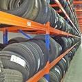 Warehouse adjustable storage steel tire rack