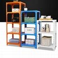 colorful iron storage light duty shelf