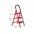 housework bedroom collapsible climbing ladder for sale 1
