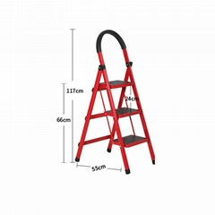 housework bedroom collapsible climbing ladder for sale