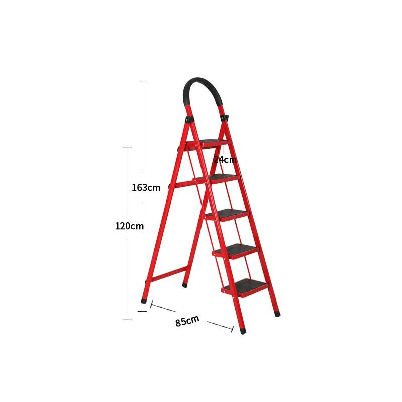 housework bedroom collapsible climbing ladder for sale 2