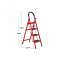 housework bedroom collapsible climbing ladder for sale 4