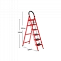 housework bedroom collapsible climbing ladder for sale 5