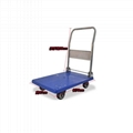material handling tools flatbed trolley