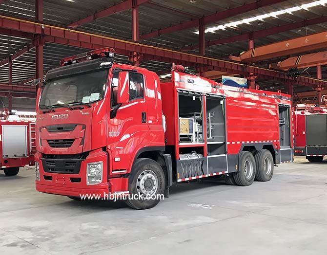 Isuzu Fire Truck For Sale 1