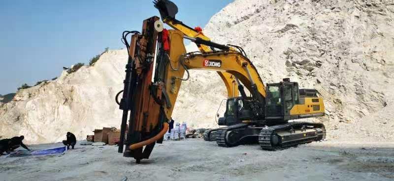 岩石鑽裂一體機全液壓挖改鑽機鑿岩礦山開採靜態爆破工程機械 1