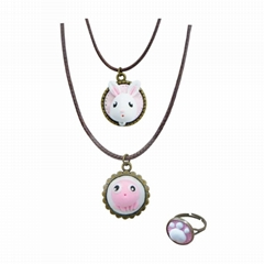 EASY WAY TO MAKE LOVELY CLAY JEWELLERY SET