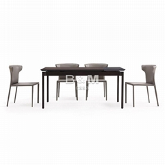 European Table and Chairs   upholstered dining chairs supplier