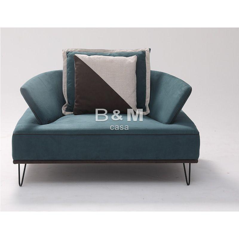 Armrest Fabric Sofa  eco-friendly fabric Sofa   Modern minimalist Fabric Sofa  1