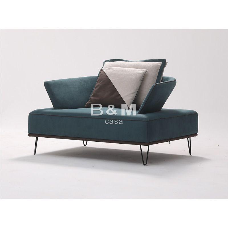 Armrest Fabric Sofa  eco-friendly fabric Sofa   Modern minimalist Fabric Sofa  4