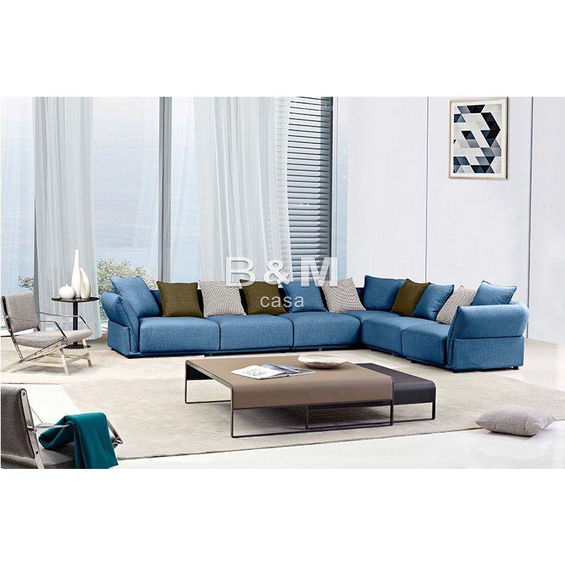 Small Size Sofa   Modern minimalist Fabric Sofa   Fabric sofa combination 2