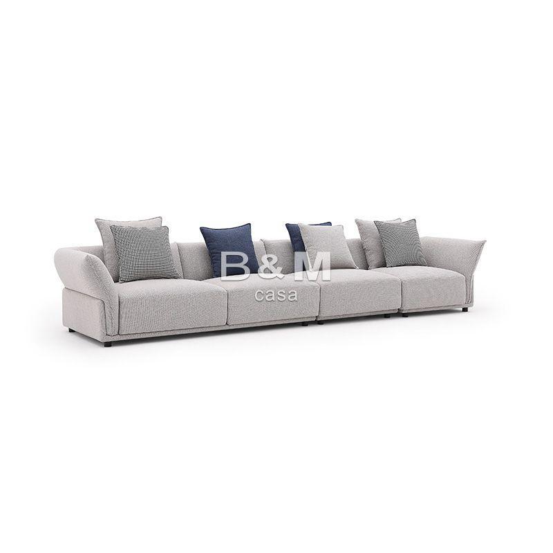 Small Size Sofa   Modern minimalist Fabric Sofa   Fabric sofa combination 4