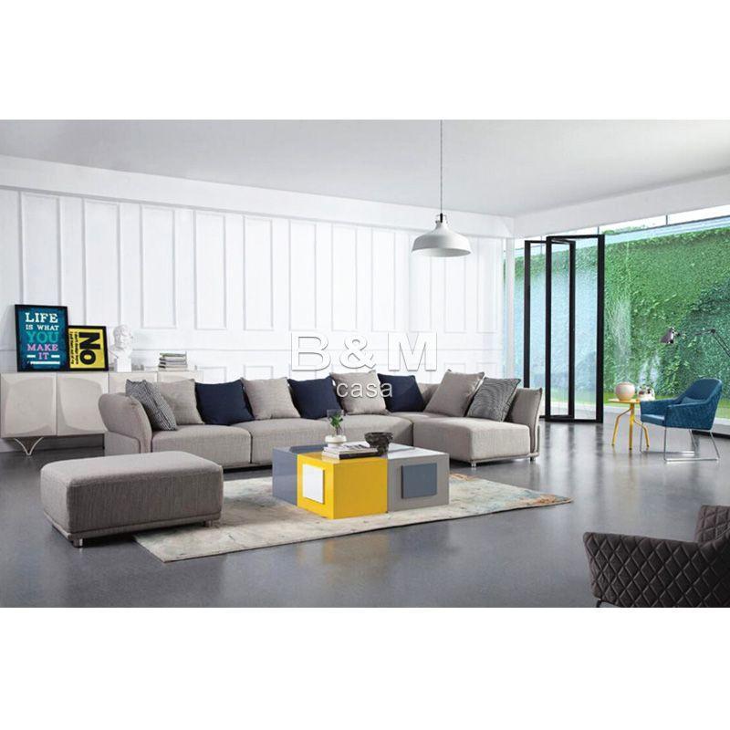 Small Size Sofa   Modern minimalist Fabric Sofa   Fabric sofa combination 5