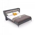 King Upholstered Bed   upholstered bed   kingsize leather beds  2