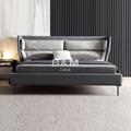 King Upholstered Bed   upholstered bed   kingsize leather beds  3
