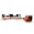 Villa Leather Sofa   high-end villas Fabric Sofa   Home leather Sofa  3