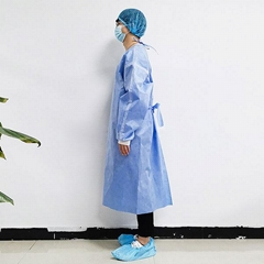 Medical use isolation gown type C-SMS