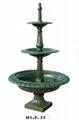 New Design Hot Selling Cast Iron Garden Water Fountain For Garden Decoration Or
