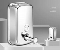 1000 Ml Shower/ Hotel Liquid Hand Soap Dispenser Bottle 304 Stainless Steel