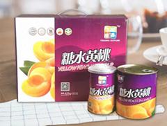 黄桃罐头 源丰果业  水果罐头