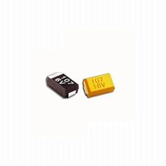 Tantalum capacitor type