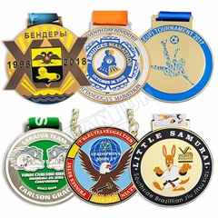 Manufacture Wholesale Sports Medals Factory Price Metal Medal  Zinc Alloy Custom