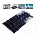 high efficient 50w 100w 120w solar cells sunpower flexible panel solar
