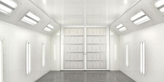 Shipping Container Spray Booth