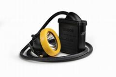 LED miner helmet light 24000Lux super bright cap lamp KL8M