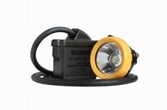 Brightest LED headlamp Li-ion battery coal mine safety equipment Wisdom KL5M hea
