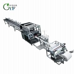 哲曼環保 廠家直供圓筒濾袋自動化生產線 可定製