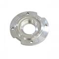 cnc lathe turning parts aluminum flange spare parts for pump
