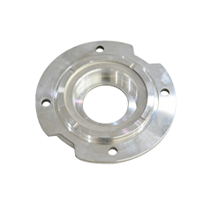 cnc lathe turning parts aluminum flange