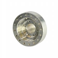 Aluminum spare parts servo motor coupling aluminum coupling spare parts coupling