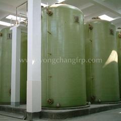 FRP Nitrogen Sealed Water Tank   fiberglass water storage tanks