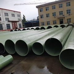 FRP Ventilation Pipe  FRP round Pipe   Hot sale FRP Pipe